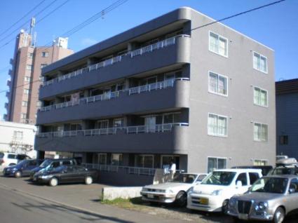 北海道札幌市白石区、苗穂駅徒歩24分の築17年 4階建の賃貸マンション