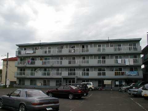 北海道江別市、森林公園駅徒歩23分の築29年 4階建の賃貸マンション