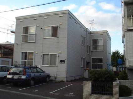 北海道札幌市清田区、南郷18丁目駅徒歩13分の築24年 2階建の賃貸アパート