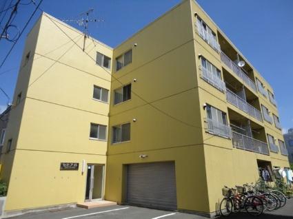 北海道札幌市白石区、南郷7丁目駅徒歩20分の築28年 4階建の賃貸マンション