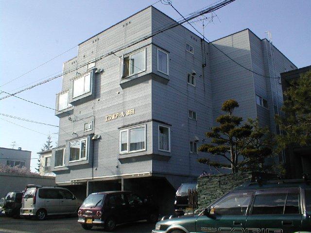 北海道札幌市清田区、南郷18丁目駅徒歩43分の築20年 3階建の賃貸アパート
