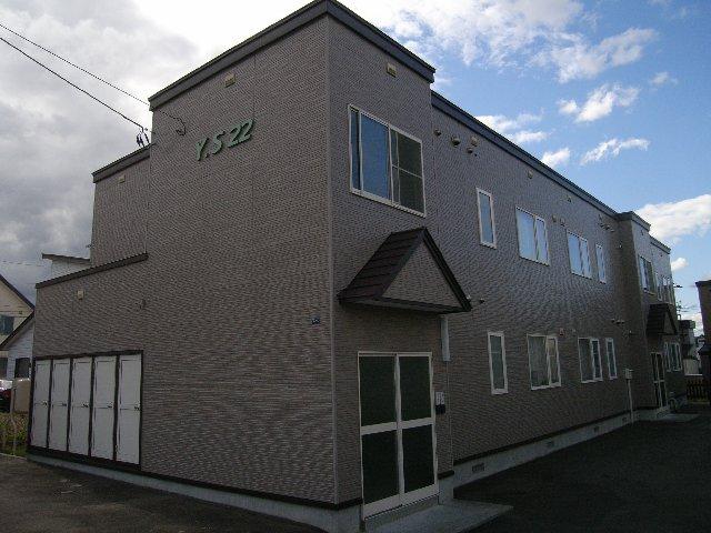 北海道札幌市清田区、南郷18丁目駅徒歩32分の築15年 2階建の賃貸アパート