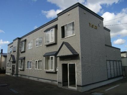 北海道札幌市清田区の築16年 2階建の賃貸アパート