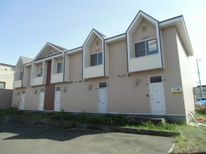 北海道札幌市清田区、大谷地駅徒歩35分の築30年 2階建の賃貸テラスハウス