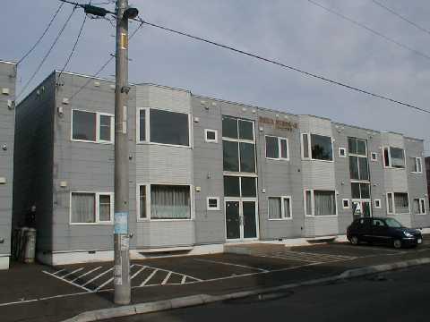 北海道札幌市厚別区、厚別駅徒歩11分の築23年 3階建の賃貸アパート