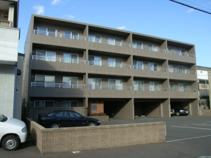 北海道札幌市豊平区、平岸駅徒歩12分の築12年 4階建の賃貸マンション