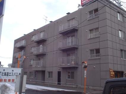 北海道札幌市豊平区、東札幌駅徒歩13分の築31年 4階建の賃貸マンション