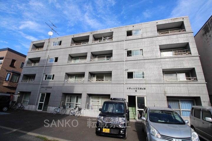 北海道札幌市東区、北34条駅徒歩13分の築20年 4階建の賃貸マンション