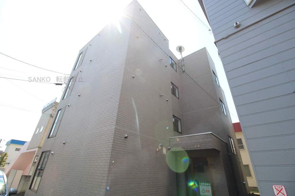 北海道札幌市東区、栄町駅徒歩20分の築26年 4階建の賃貸マンション