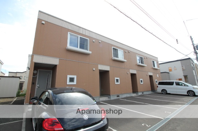北海道札幌市東区の築9年 2階建の賃貸テラスハウス