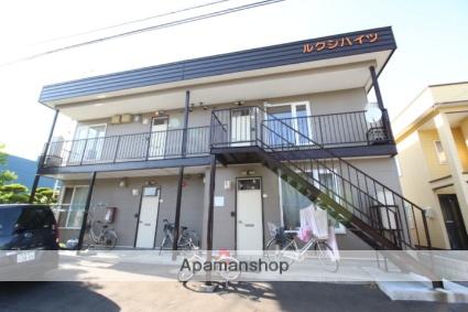 北海道札幌市東区、新琴似駅徒歩18分の築19年 2階建の賃貸アパート