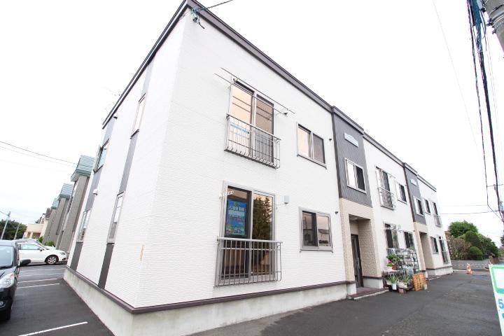 北海道札幌市東区、太平駅徒歩17分の築8年 2階建の賃貸アパート