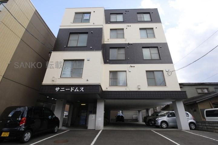北海道札幌市東区、元町駅徒歩8分の築27年 5階建の賃貸マンション