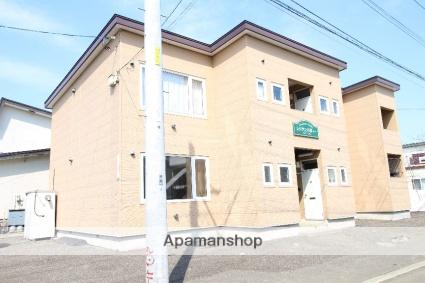 北海道札幌市北区、新川駅徒歩20分の築19年 2階建の賃貸アパート