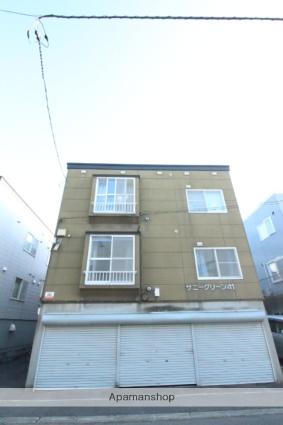 北海道札幌市東区、北24条駅中央バスバス20分伏古7−5下車後徒歩3分の築21年 2階建の賃貸アパート
