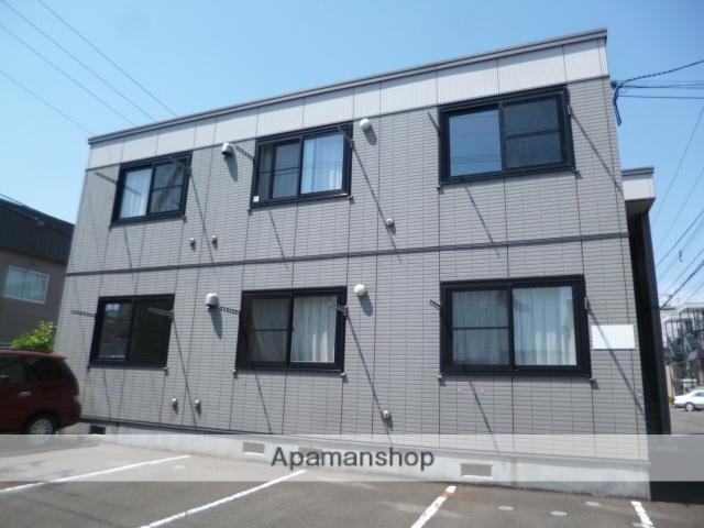 北海道札幌市北区、新琴似駅徒歩16分の築14年 2階建の賃貸アパート