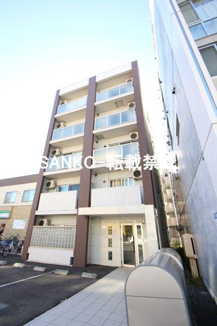 北海道札幌市北区、北24条駅徒歩4分の築7年 5階建の賃貸マンション