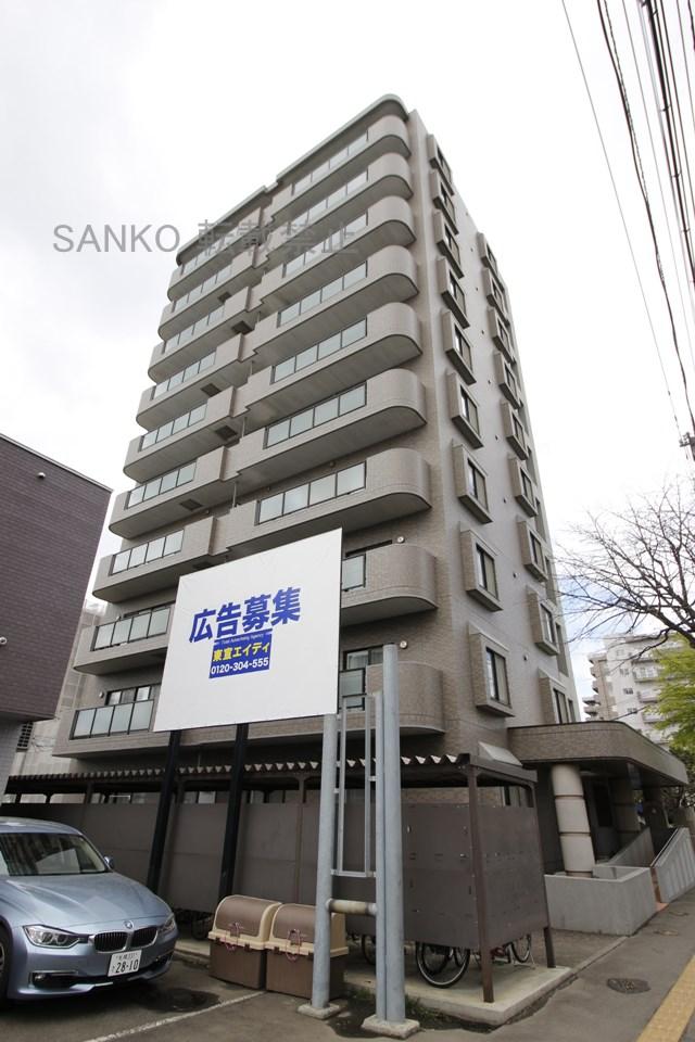 北海道札幌市東区、元町駅徒歩7分の築15年 10階建の賃貸マンション