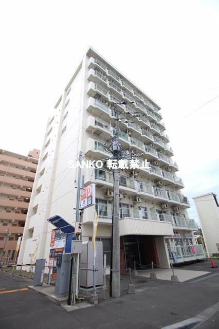 北海道札幌市北区、北34条駅徒歩9分の築38年 9階建の賃貸マンション