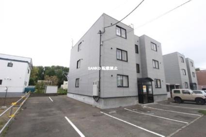 北海道札幌市北区、新琴似駅徒歩23分の築20年 3階建の賃貸マンション
