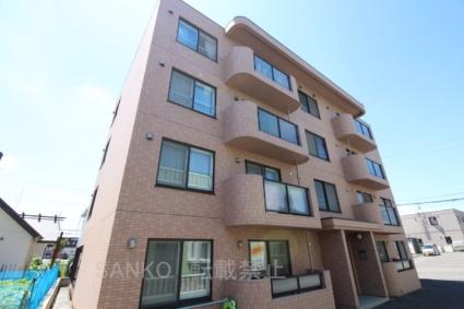 北海道札幌市東区、元町駅徒歩59分の築7年 4階建の賃貸マンション