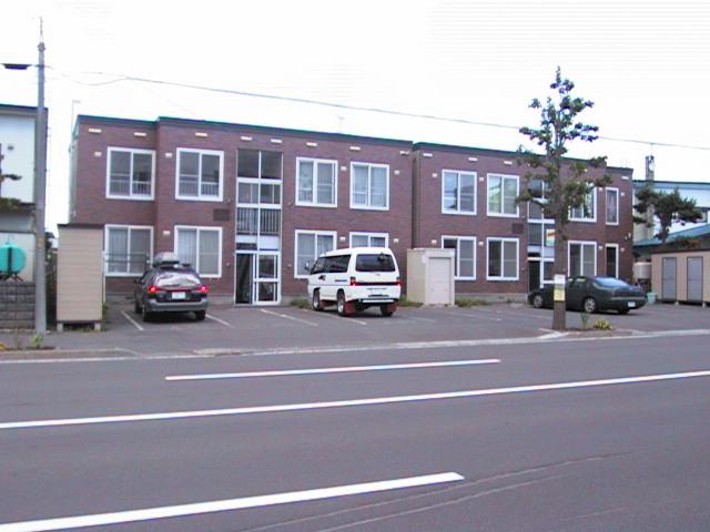 北海道札幌市北区、篠路駅徒歩17分の築25年 2階建の賃貸アパート