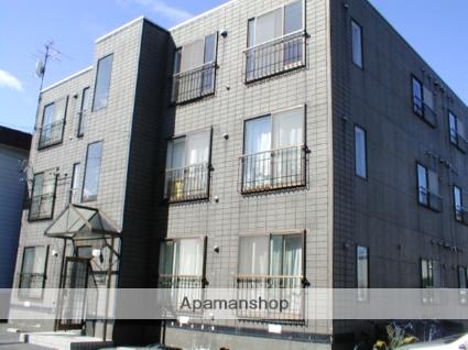 北海道札幌市東区、栄町駅徒歩13分の築25年 3階建の賃貸マンション