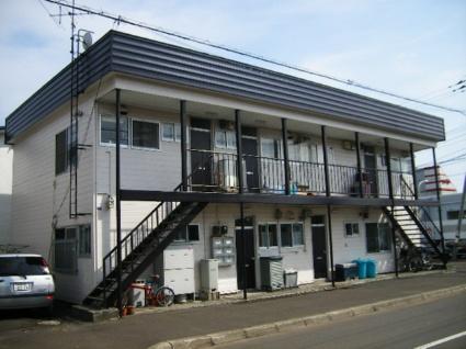 北海道札幌市北区、新琴似駅徒歩18分の築31年 2階建の賃貸アパート