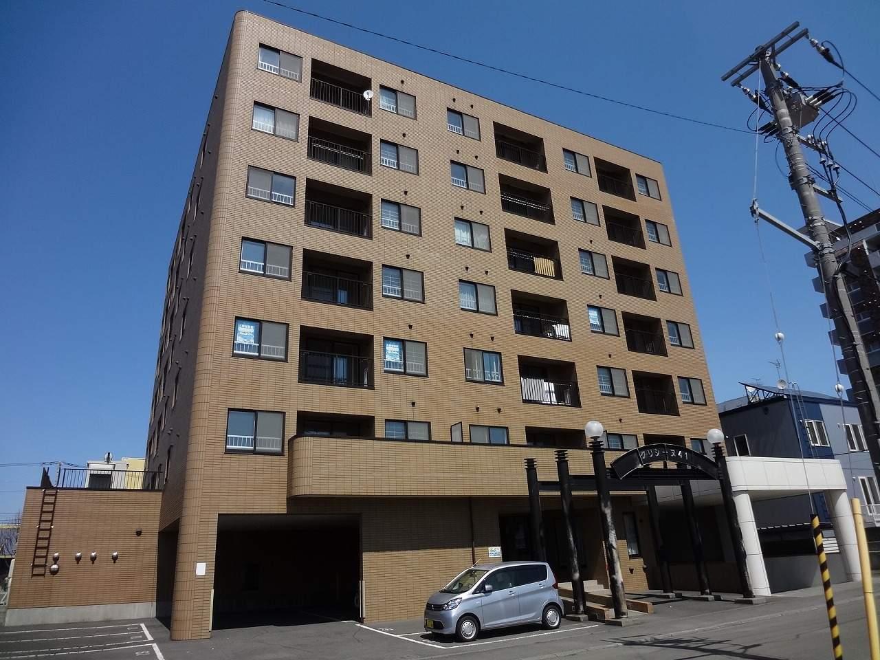 北海道札幌市東区、栄町駅徒歩2分の築19年 7階建の賃貸マンション