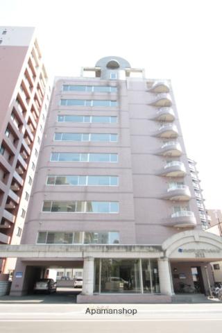 北海道札幌市北区、札幌駅徒歩9分の築23年 10階建の賃貸マンション