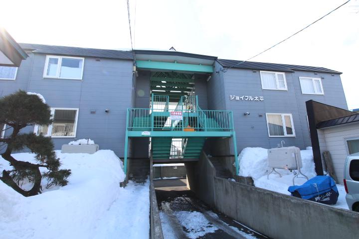 北海道札幌市北区、太平駅徒歩3分の築22年 2階建の賃貸アパート