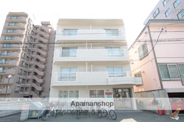 北海道札幌市北区、北18条駅徒歩8分の築31年 4階建の賃貸マンション
