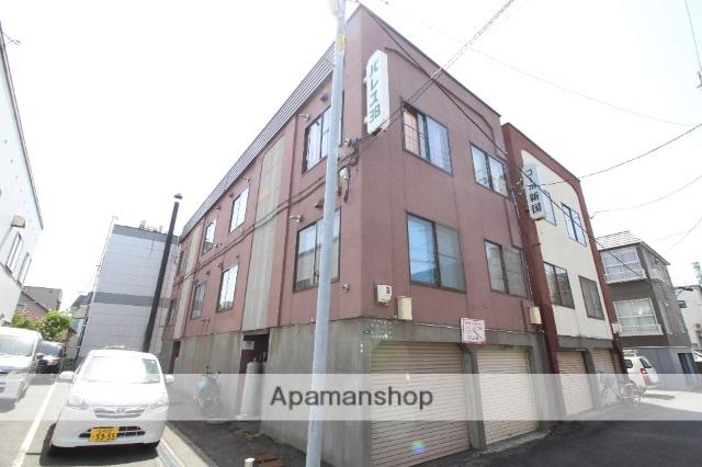 北海道札幌市東区、新琴似駅徒歩17分の築34年 3階建の賃貸アパート