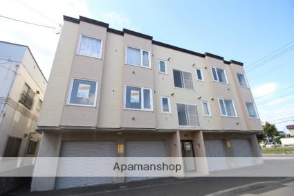 北海道札幌市東区、太平駅徒歩10分の築19年 3階建の賃貸アパート