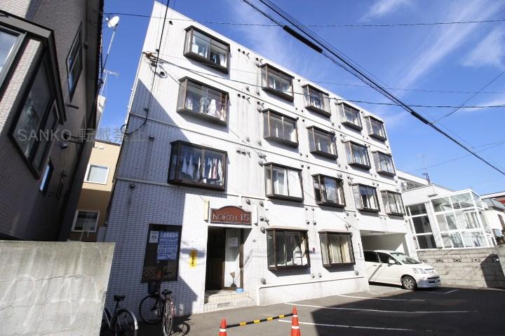 北海道札幌市東区、環状通東駅徒歩15分の築28年 4階建の賃貸マンション