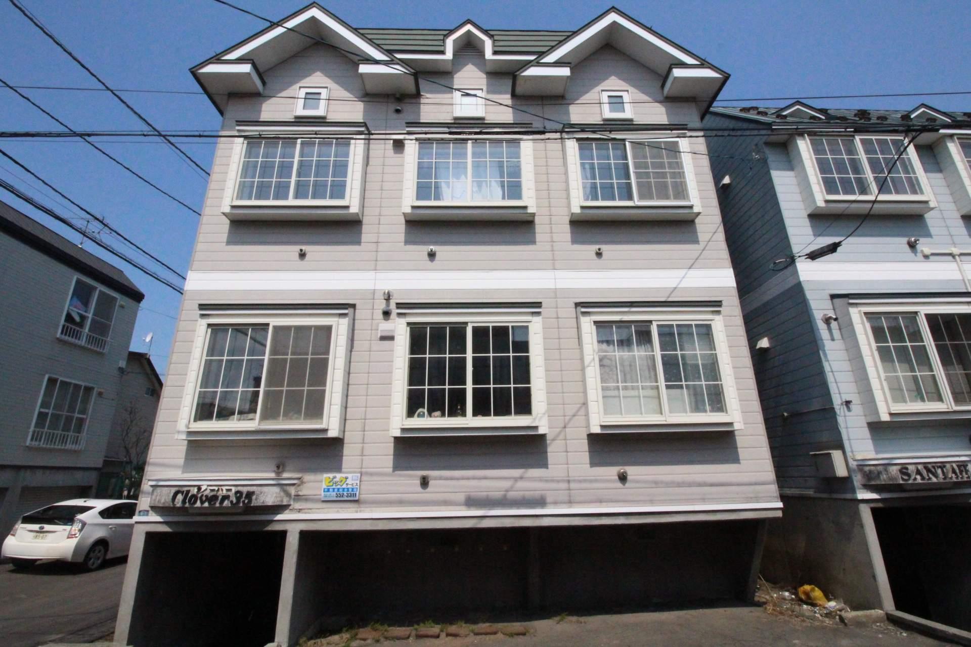 北海道札幌市東区、麻生駅徒歩14分の築25年 2階建の賃貸アパート