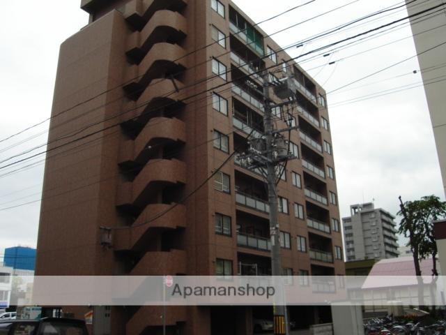北海道札幌市中央区、札幌駅徒歩14分の築22年 9階建の賃貸マンション
