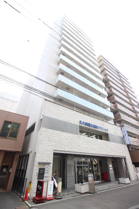 北海道札幌市北区、札幌駅徒歩2分の築10年 15階建の賃貸マンション