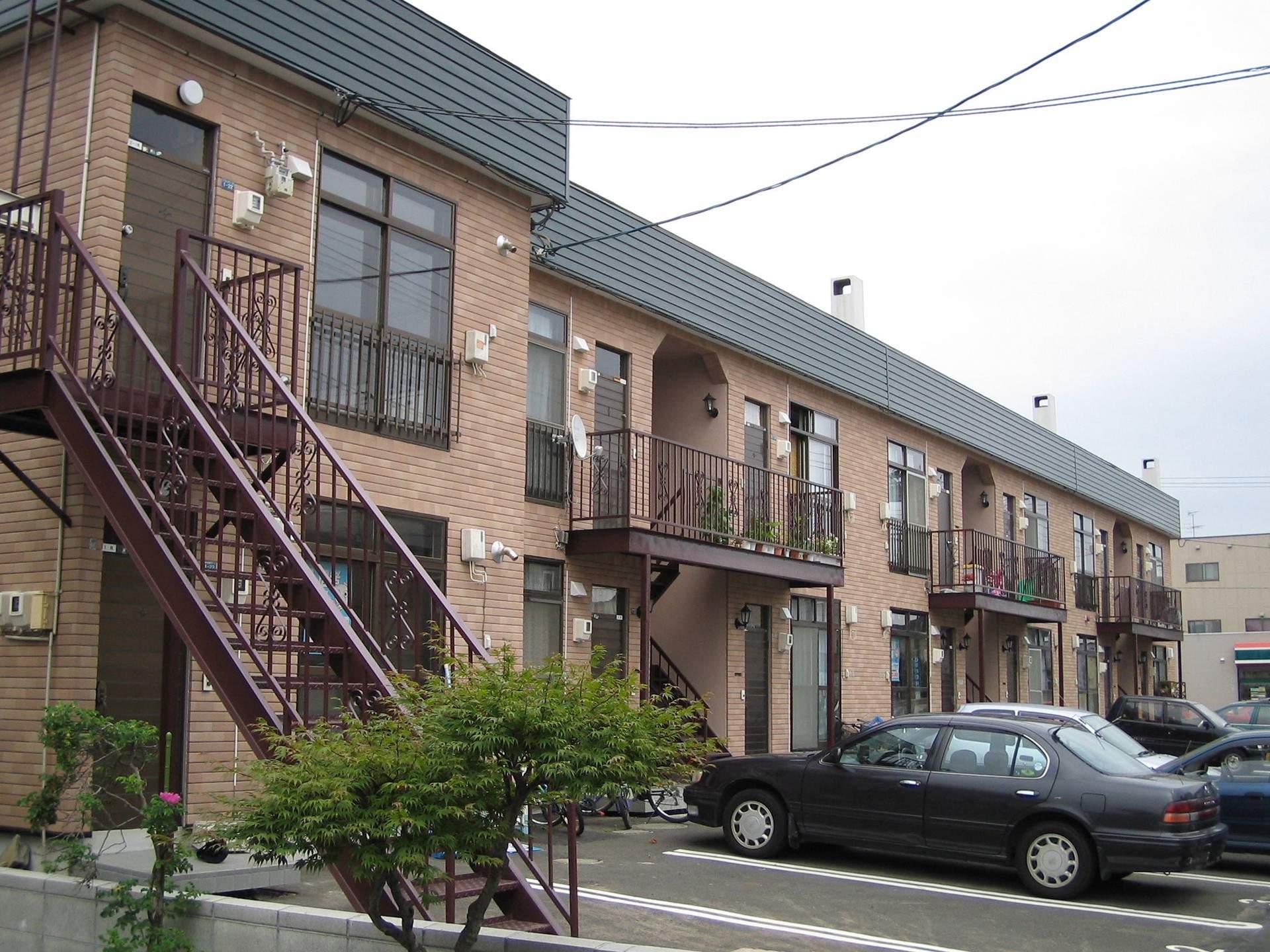 北海道札幌市東区の築35年 2階建の賃貸アパート