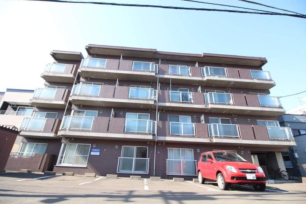 北海道札幌市東区、北34条駅徒歩18分の築26年 4階建の賃貸マンション