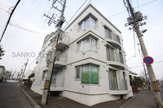 北海道札幌市東区、環状通東駅徒歩12分の築29年 4階建の賃貸マンション