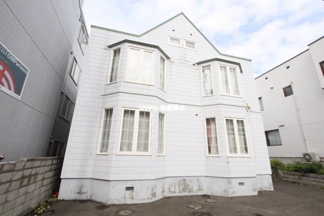 北海道札幌市北区、新琴似駅徒歩18分の築29年 2階建の賃貸アパート