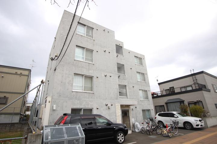 北海道札幌市北区、新琴似駅徒歩8分の築8年 4階建の賃貸マンション