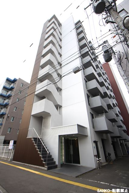 北海道札幌市北区、北24条駅徒歩10分の築8年 11階建の賃貸マンション