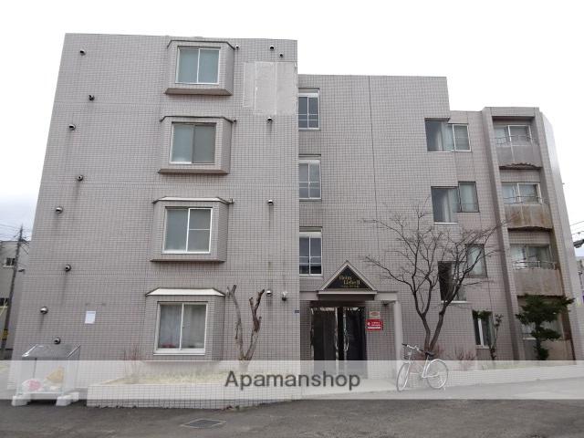 北海道札幌市北区、新琴似駅徒歩16分の築28年 4階建の賃貸マンション