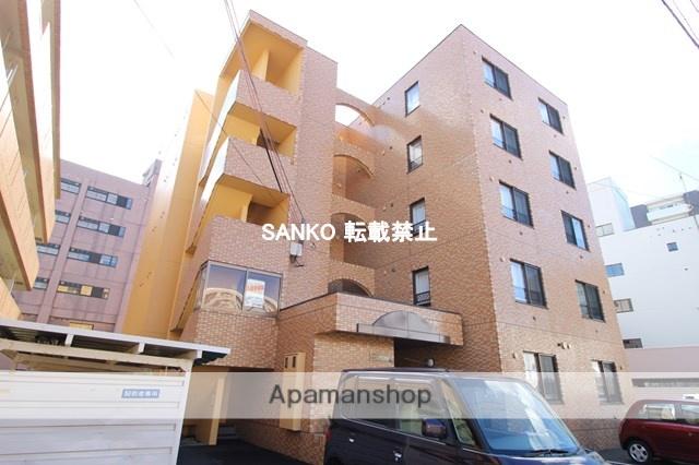 北海道札幌市北区、新琴似駅徒歩14分の築24年 5階建の賃貸マンション