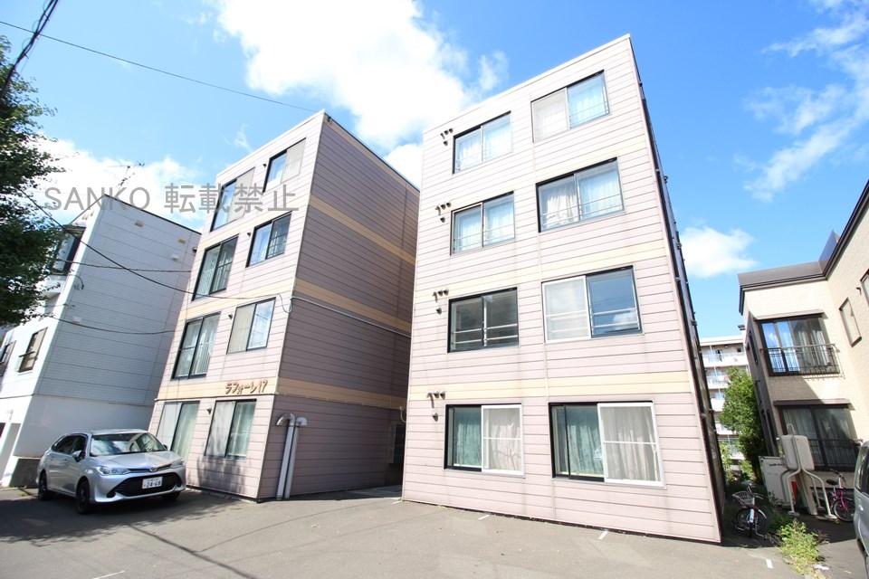 北海道札幌市東区、元町駅徒歩10分の築28年 4階建の賃貸マンション