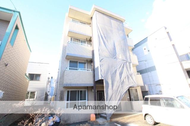 北海道札幌市東区、新琴似駅徒歩17分の築26年 4階建の賃貸マンション