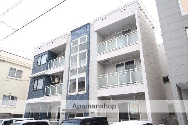 北海道札幌市東区、北34条駅徒歩13分の築8年 3階建の賃貸アパート