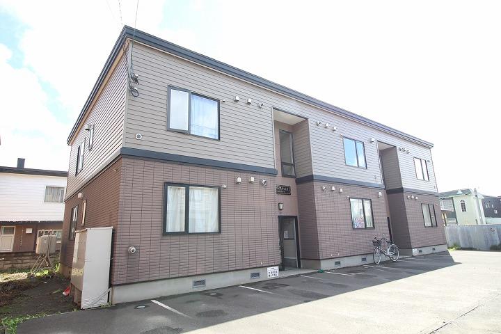 北海道札幌市東区、太平駅徒歩15分の築15年 2階建の賃貸アパート